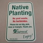 Native Plant Sign